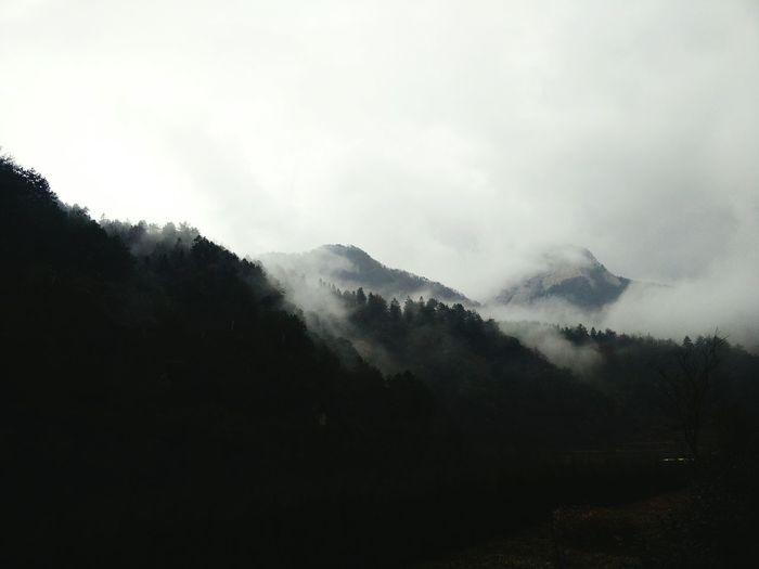 飘渺之旅,云雾缭绕…