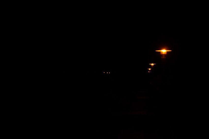 Night Dark No People Outdoors Lights
