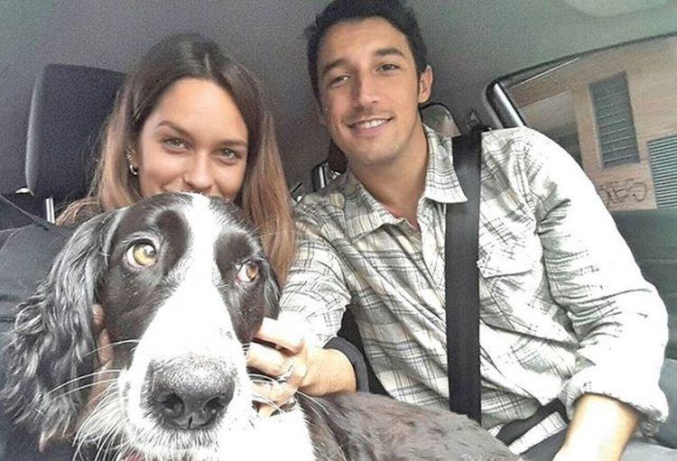 Feliz día del animal a todos todos todos 🐶🐶🐶🐶🐶🐶🐶 Acá con CarolinadelParque y mi amor 😍