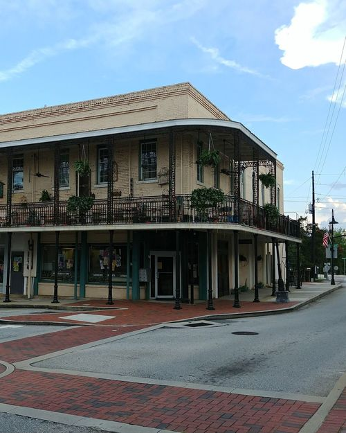 Set of The Originals. Architecture Building Exterior The Originals Set Filming Location New Orleans Building No People Mardi Gras