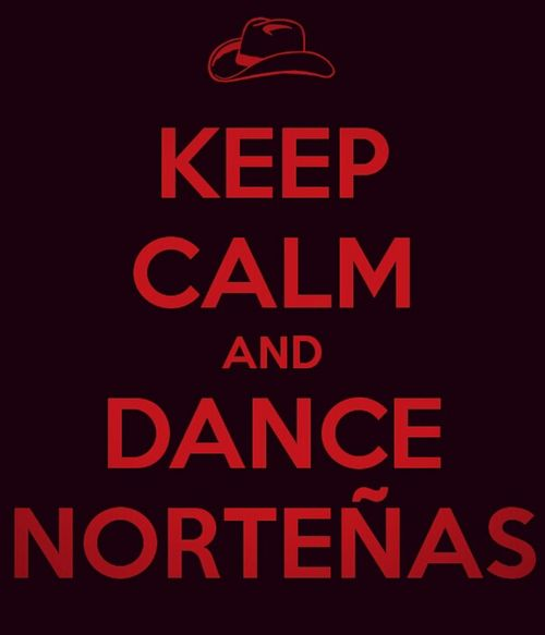 Love Keep Calm Mexican Norteñas Chunt♥