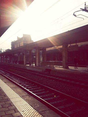 Sun Light Sky Train Station