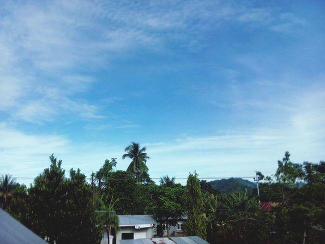 Langit yang tak ada batasnya... alhamdulillah... Sky Allah Syukur