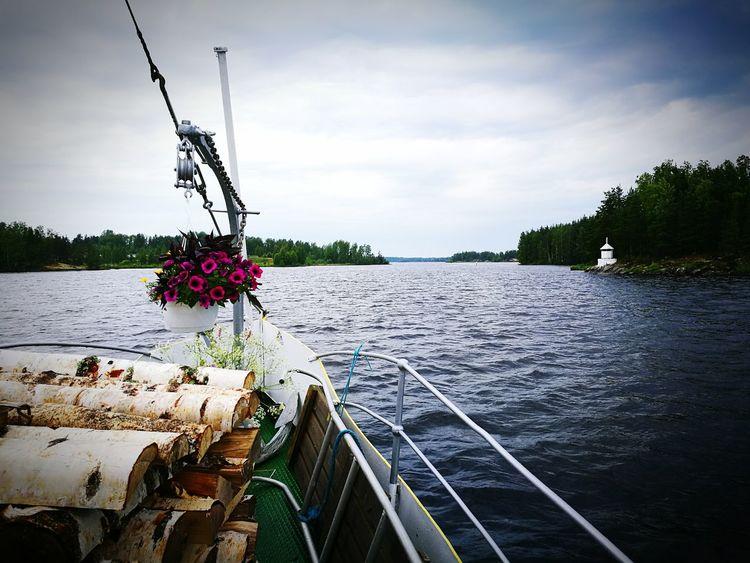 Steamboat Finnish Lake Saimaa Finnish Summer Nautical Vessel Beauty In Nature Water Nature Outdoors No People Sailing Boat Deck Neighborhood Map