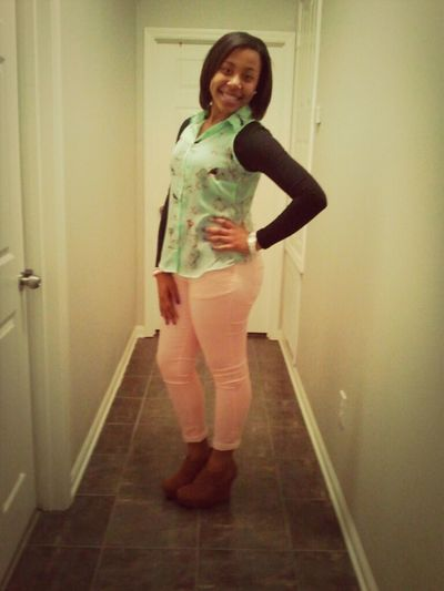 Saturday night headed to the basketball game