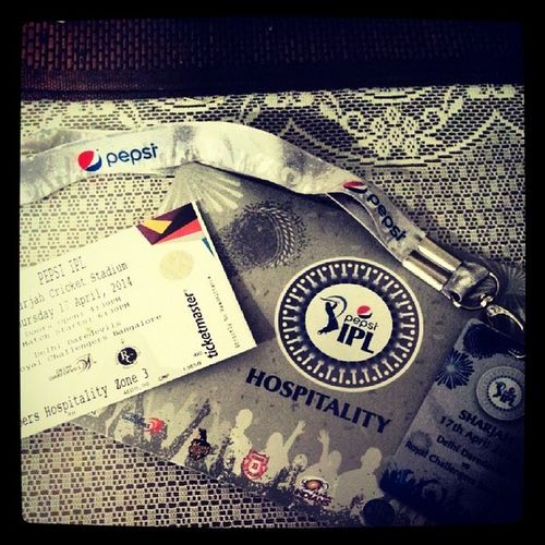 Guess what came in the mail today!! Vipseats Thankyoupepsi Bestmomintheworld Pepsi ipl delhi rcb sharjah