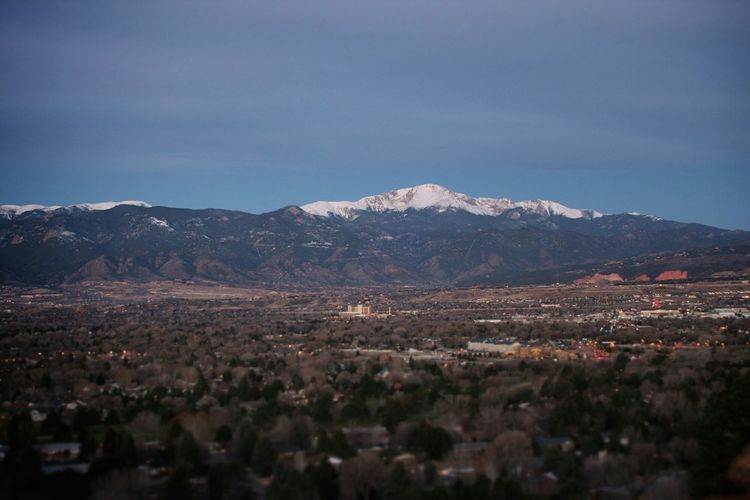 Mountains Mountain View Landscape Sunrise Colorado Coloradogram