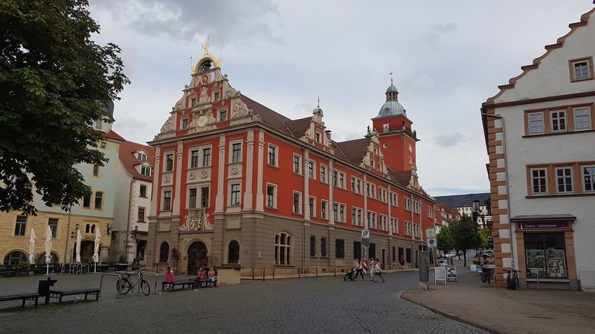 Gotha Thuringia Travel Destinations Architecture History Tourism Museum City Outdoors Building Exterior Sky Day King - Royal Person Politics And Government No People