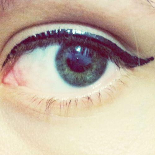 Green eye That's Me