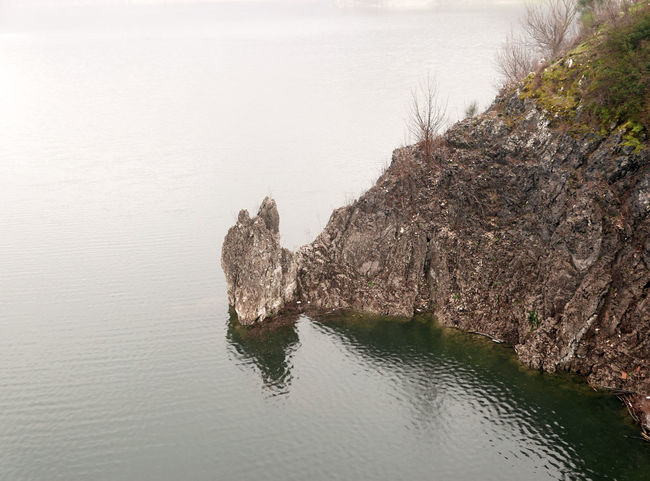 Grey Lago Del Turano Lake Rock - Object Scenics Tranquil Scene Tranquility Water