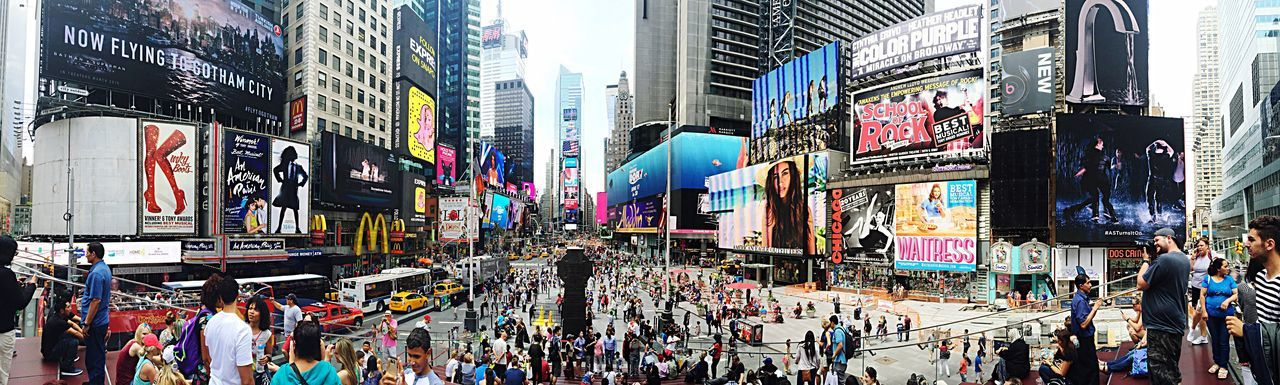New York City New York TimesSquare Panorama Panoramic Photography Panoramic People Watching Street Photography Streetphotography