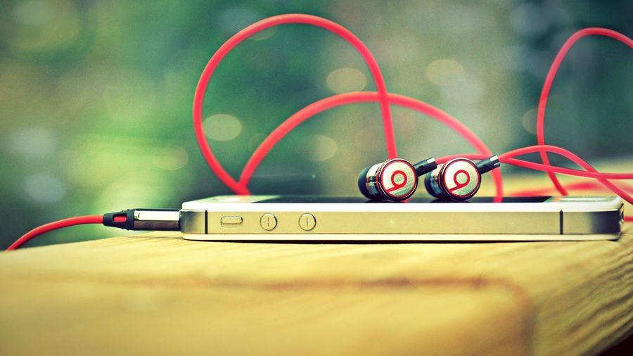 IPhone 5s My Phone Beats By Dr Dre Earphones clicked by my Xperia z ,my own Creative Creation Awesome Sara Photography