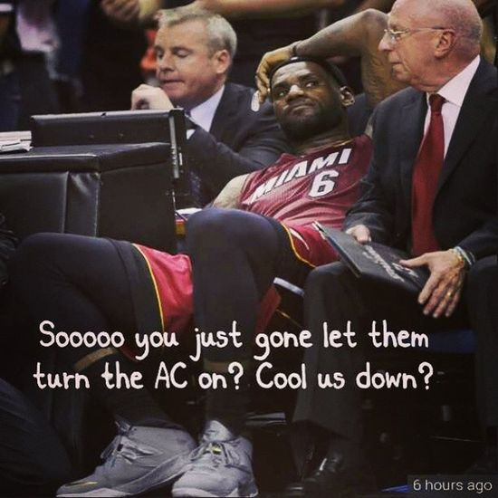 I had to make this lmao Thawayt Waytlessthoughts Kingjames Heat spurs heatnation spursnation nba