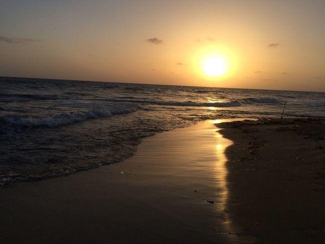 Sea And Sky Sea IPhone 5S Camera Phone IPhoneography Taking Photos Photographer Libya Misurata Tripoli ❤ Libya Misurata Sunlight MyDay 🌊❤️🏊🏻