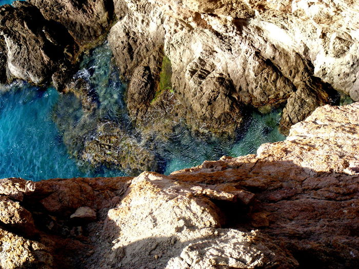 Beauty In Nature Coastline Day Geology Landscape_Collection Landscape_photography Nature No People Outdoors Rock - Object Scenics SPAIN Sunlight Textured  Tranquility Water