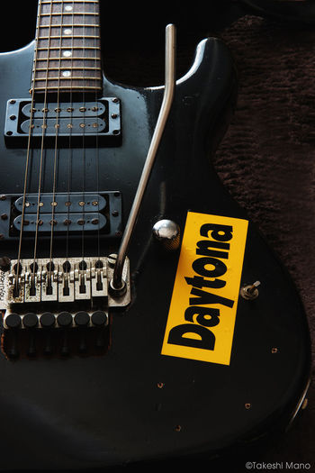 My Axe Guitar Guitars Seymourduncan Floydrose Floydrosetremolo Black