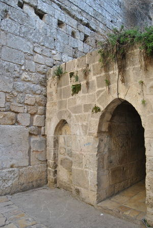 Series of the Christian Quarter. One of the four quarters of the walled Old City of Jerusalem, Arch Architecture Brick Wall Building Built Structure Christian Quarter Day Deterioration Historic History Jerusalem No People Old Old City Outdoors Stone Material Stone Wall The Past Wall - Building Feature