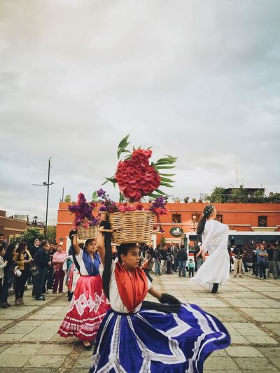 Oaxaca Mexico Streetphotography Feel The Journey Vacations REGIONAL DANCE Dancing Woman Dancing Tipical Dress