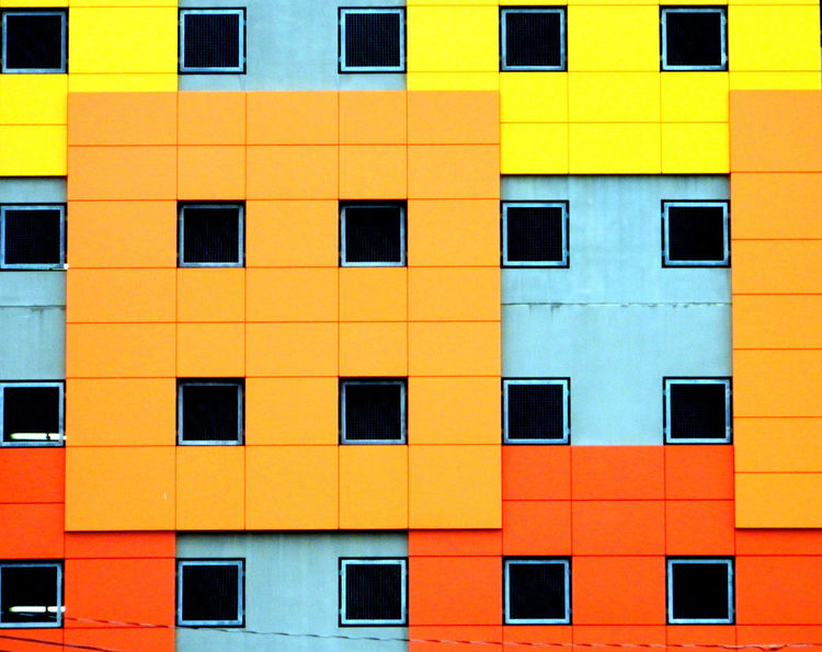 No Filters  Architecture Architecturelovers Backgrounds Building Exterior Built Structure City Day Full Frame No People Outdoors Residential Building Urban Window Yellow