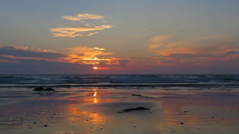 Love Cornwall Water Swimming Sea Beauty Horizon Sand