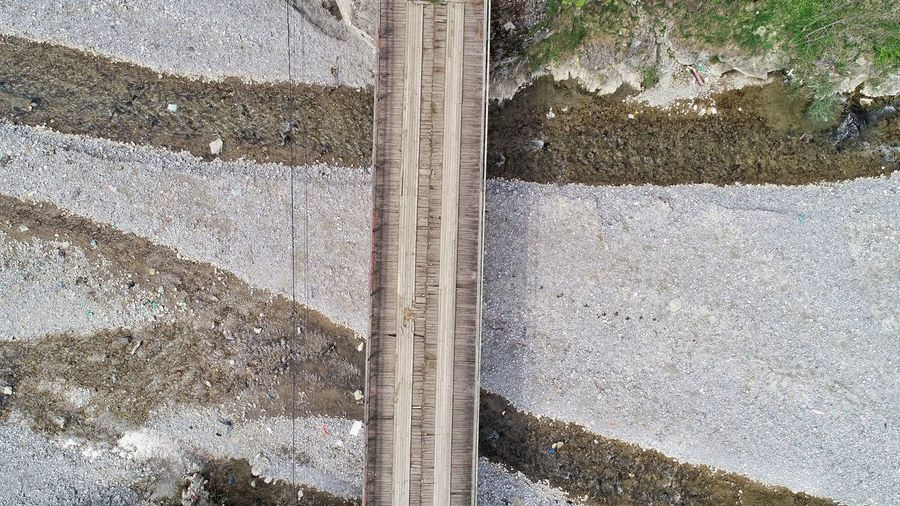 Backgrounds Full Frame Textured  High Angle View Road Close-up LINE Architectural Design Architectural Detail Roadways Road Marking Track Detail