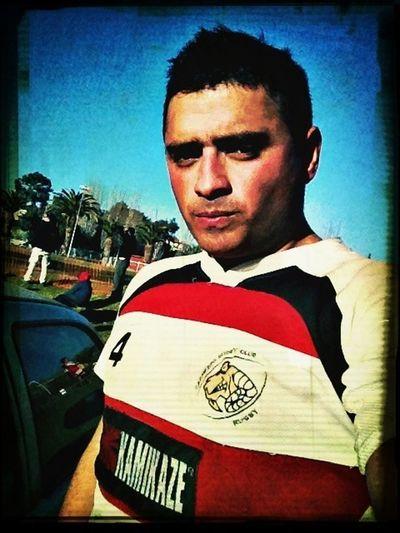 Jugando rugby