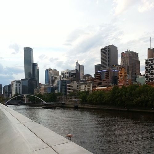 View from Southbank Melbournecbd Australia love these country