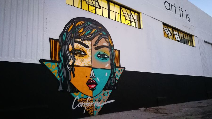 Street Art Graffiti Streetphotography Cape Town, South Africa Woodstock South Africa HuaweiP9 HuaweiP9Photography Huawei P9 Leica Cellphonephotography EyeEm Huaweiphotography