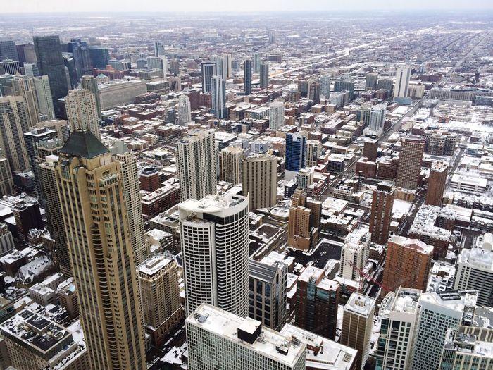 City View  Chicago City Cityscape Skyscraper Architecture City Aerial View No People Travel Destinations Building Exterior Built Structure