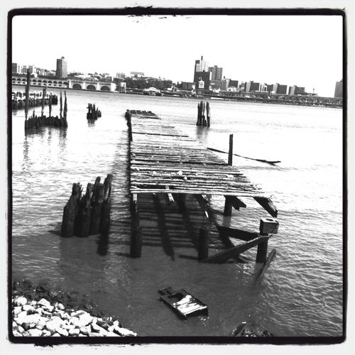 the pier....