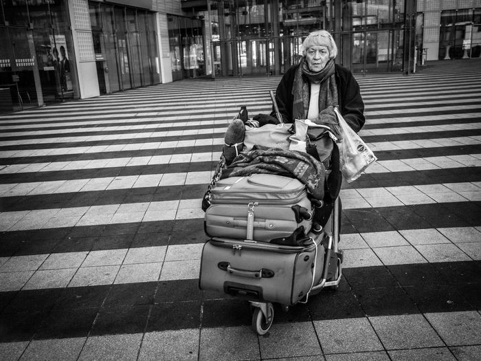 Blackandwhite Real People Street Street Photography Streetphotography Tiled Floor Traveling Urban Olympus OM-D E-M5 Mk.II The Tourist