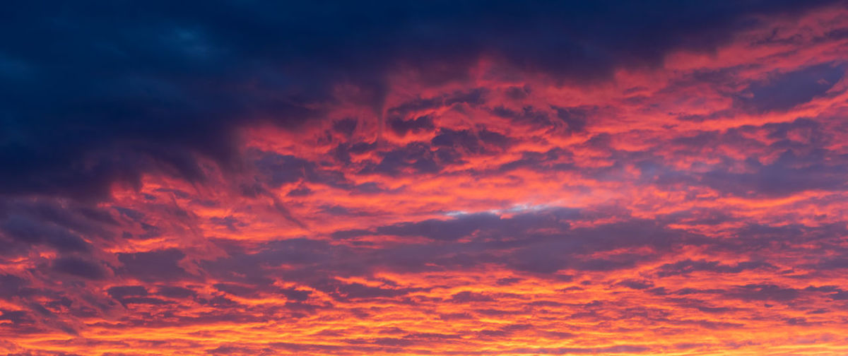 Fiery red clouds, light rays and other atmospheric effect at sunset or sunrise Cloud - Sky Sky Sunset Cloudscape Beauty In Nature Dramatic Sky Scenics - Nature Backgrounds Orange Color Nature Red Environment Tranquility Atmosphere Space No People Awe Moody Sky Meteorology Sun Dark Outdoors Wind Abstract