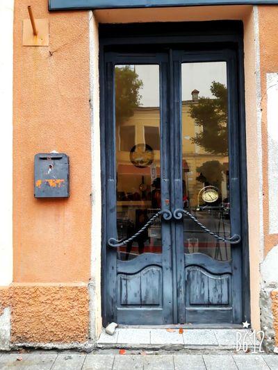 Door Batumi City Blue Vintage