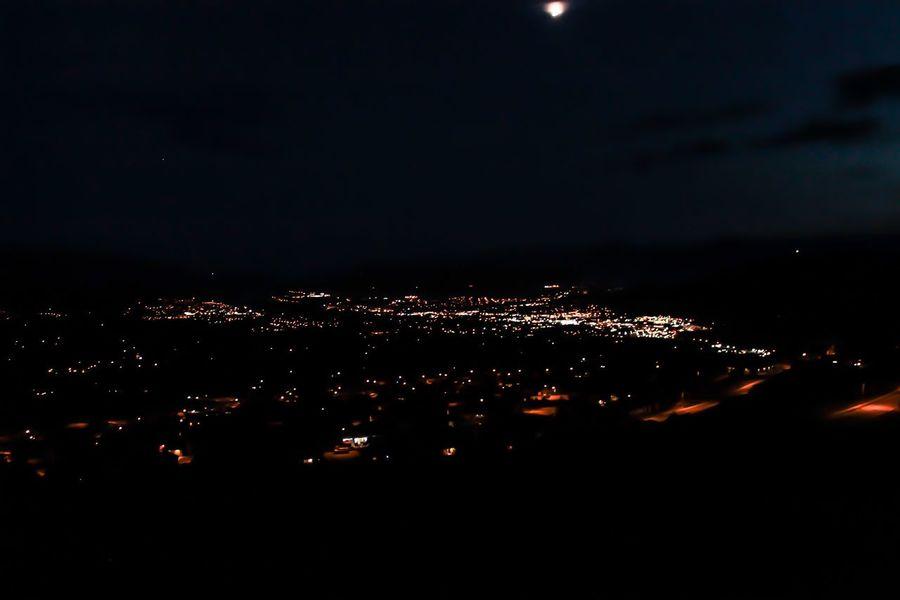 Vernon Canada City Night