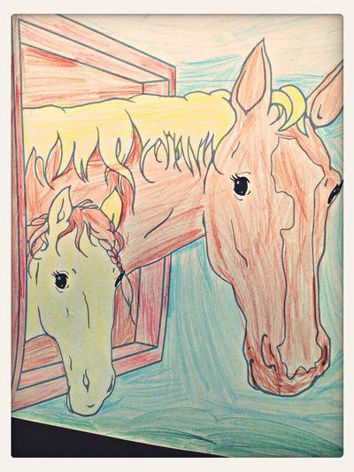 Horsedraw Icolorama Animalcolor Childcoloring
