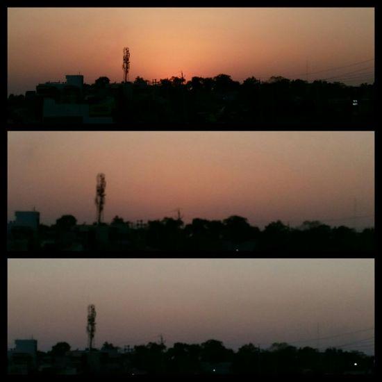 Sunset Dusk Sky No People Cityscape Nature Urban Skyline Outdoors
