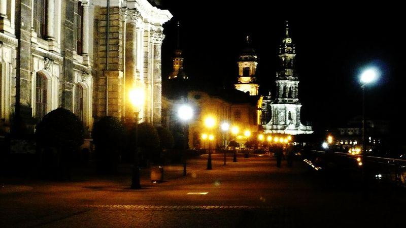 Night In The City, night in Town, dresden bei nacht