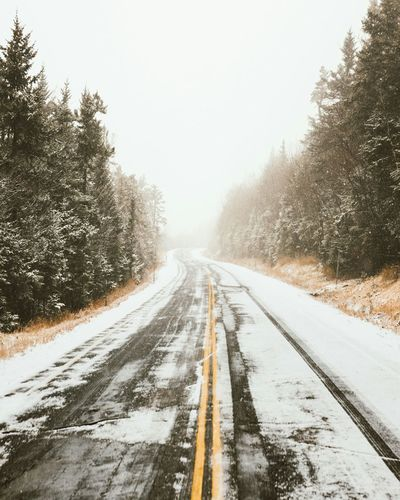 Have to get my Snow tires on soon // New Hampshire White Mountain National Forest Roads Showcase: December