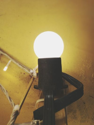 light bulb on yellow wall Lights Bulb Light Bulb Electricity  Bulbphotography Bulb Light Lighting Equipment Bright Electronics  Technology Yellow Wall Indoors  No People Close-up Photography Themes
