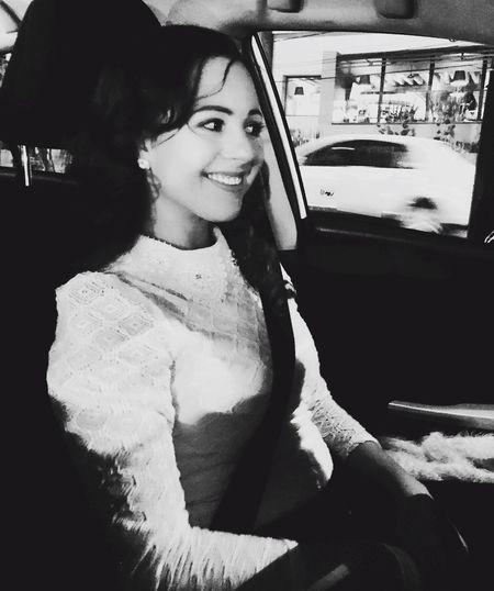 Blackandwhite Portrait Driving Car Gratitude Enjoying Life ♥ Life Is Perfect Paceful Faces Of EyeEm Hello World Mexico De Mis Amores City Life Mexico City Faces On The Road City Thats Me  Road Me
