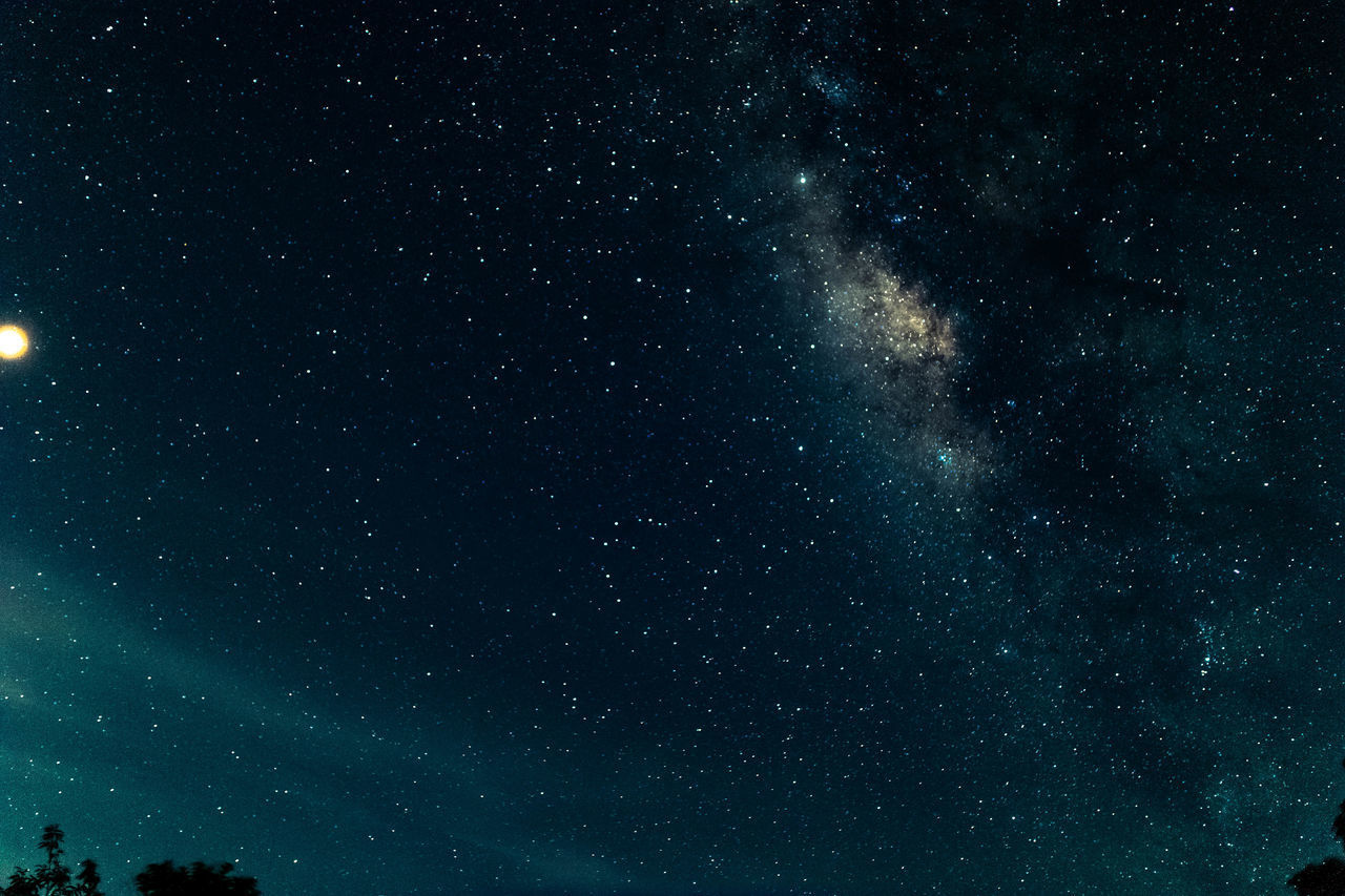 astronomy, space, sky, star - space, night, beauty in nature, star, tranquility, scenics - nature, no people, low angle view, galaxy, star field, nature, tranquil scene, milky way, infinity, outdoors, full frame, idyllic, space and astronomy