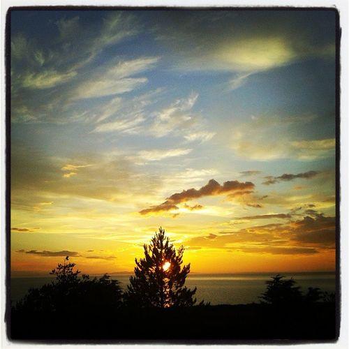 Sunset Scotland Scottishhighlands Uk Summer Weather Johnnelson Gairloch