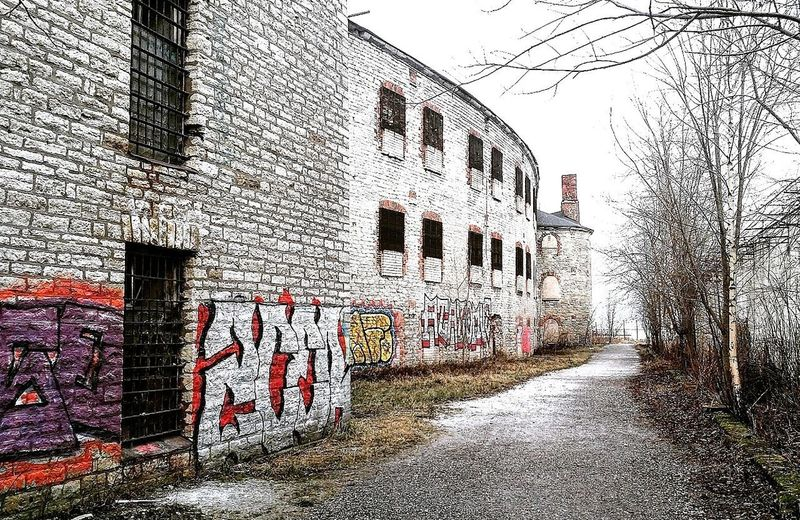 Building Exterior Architecture Prison Tallinn Estonia Motion Abandoned Buildings Ghosttown