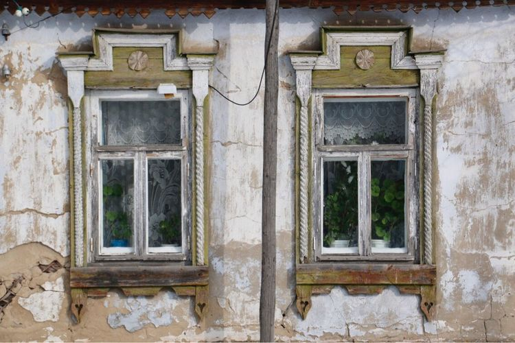 Old house Window Architecture