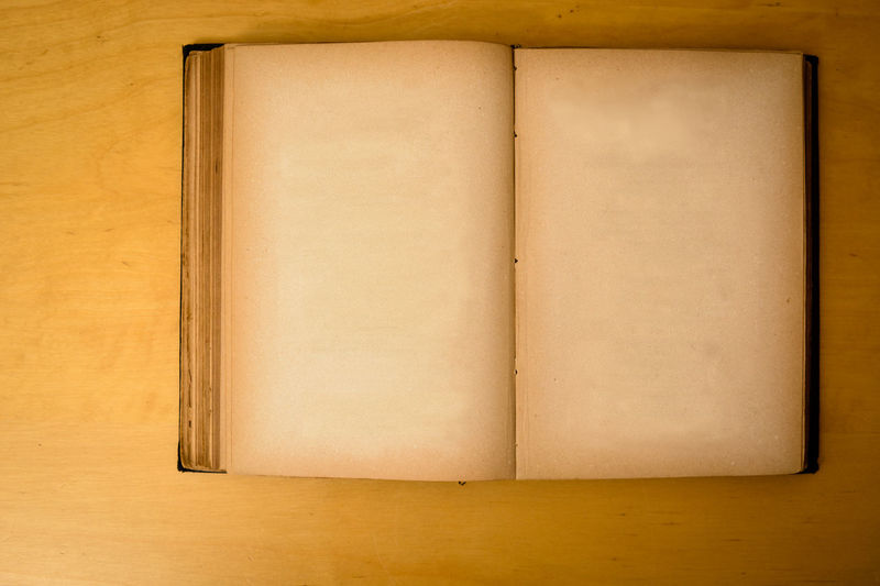 old historic book with blank pages Antique Storytelling Writing Blank Book Dirty Griddy History Old Rusty Story Tatty