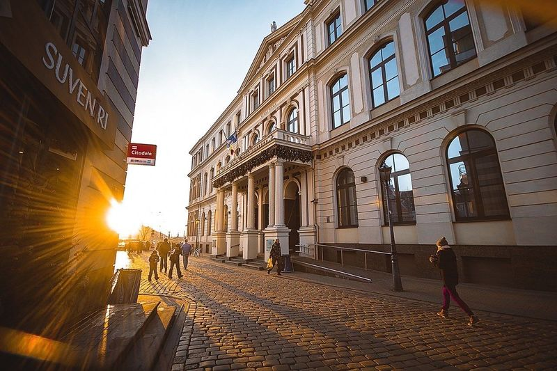 Traveling Travel Travelling Travel Photography DmitryBarykin Riga NewYear Sunshine City City View