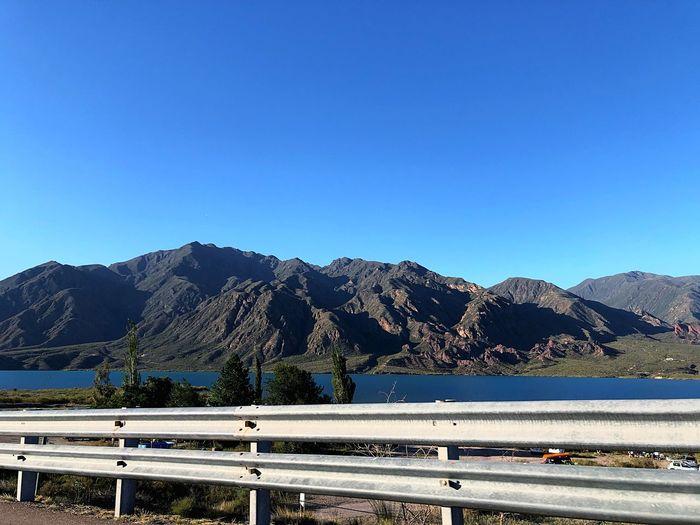 Ruta y montaña
