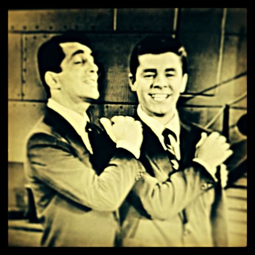 Jerry Lewis Hanging Out Dean Martin Legends