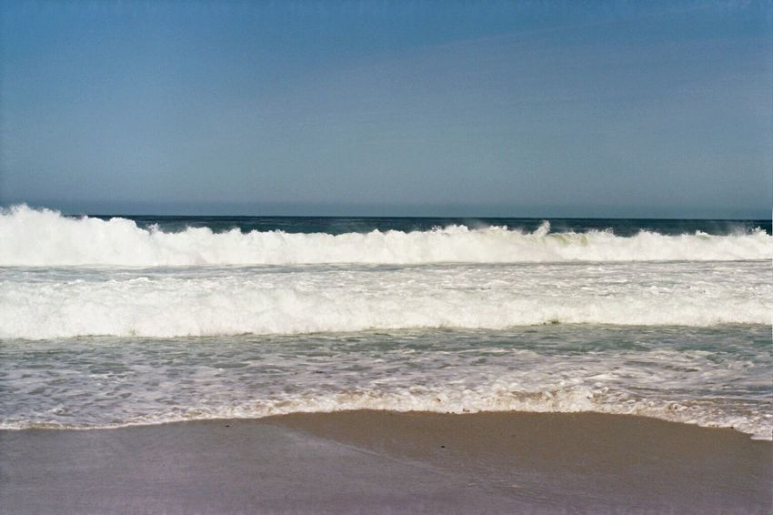 Ektar100 Zenit122 Sea Wave Nature Beach Surf Sand Carmel Beach Film Carmel-by-the-sea Koduckgirl