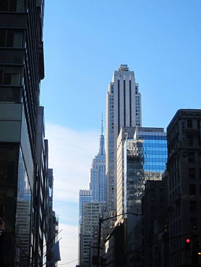 Built Structure Buildings Modern Clear Sky Downtown District Cityscape Low Angle View Urban Skyline Newyorkcity EyeEm Selects